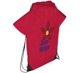 Promotional Fan T-Shirt Drawstring Bag