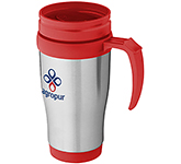 Aston 400ml Stainless Steel Printed Travel Mug