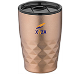Riviera 350ml Geo Copper Insulated Travel Tumbler