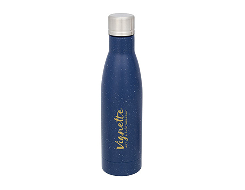 Lunar 500ml Speckled Copper Vacuum Insulated Water Bottle