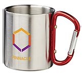Carabiner 200ml Metal Travel Mug