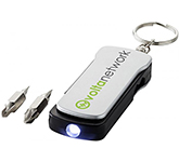 Harvard 6-Function LED Key Holder