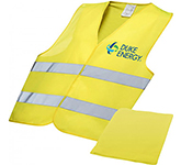 Foreman Professional Safety Vest In Pouch