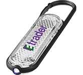 Bling LED Carabiner Keychain Light