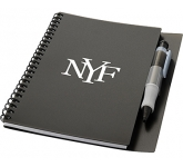 A5 Hyatt Spiral Bound Notebook & Pen