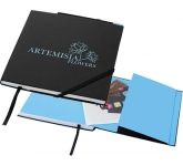Alpha Square Hard Cover Executive Notebook