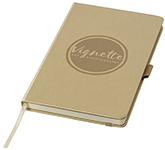 Metallic A5 Hard Cover PU Leather Notebook