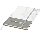 A5 Two Tone Marble Notebook