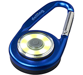 Eye Carabiner COB Light Keyring