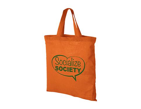Carolina 5oz Short Handled Cotton Tote Bag