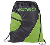 Studley Zipped Drawstring Bag