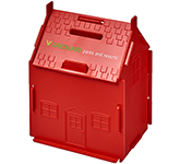 House Printed Flat Pack Money Box