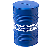 Oil Drum Money Box