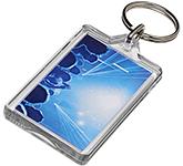 Luken Reopenable Plastic Keyring