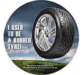 Tyre Brite-Mat - Round