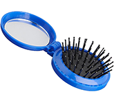 Milan Foldable Hairbrush With Mirror