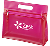 Kennedy Frosted PVC Toiletry Bag