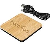 Sherwood Bamboo Wireless Charging Pad