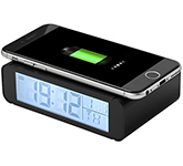 Time Wireless Charging Clock