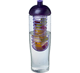 H20 Marathon 700ml Domed Top Fruit Infuser Sports Bottle