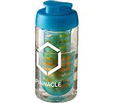 H20 Triathlon 500ml Flip Top Fruit Infuser Water Bottle