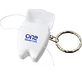 Smile Dental Floss Keychain