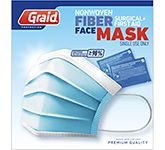 Fibre Surgical Face Mask With Cleansing Gel