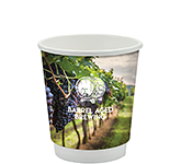 Double Walled Cubano Paper Cup - Full Colour - 230ml