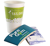 Full Colour Paper Cup Sleeves - 360-480ml