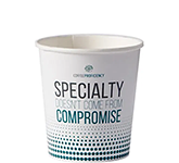 Single Walled Barista Paper Cup - Full Colour - 115ml