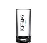 Reusable 50ml Kamikaze Polycarbonate Straight Sided Shot Glass