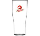 Reusable Tulip Polycarbonate Pint Beer Glass - 568ml