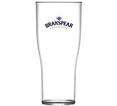 Reusable Tulip Polycarbonate Half Pint Beer Glass - 284ml