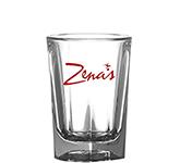 Reusable 25ml Prism Polycarbonate Plastic Shot Glass