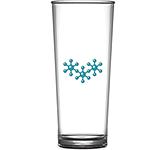 Reusable Polycarbonate Hiball Pint Glass - 568ml