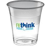 Glastonbury Disposable Plastic Beer Glass - 350ml