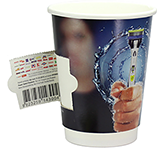 Double Walled Coupon Paper Cup - Full Colour - 340ml