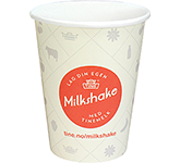 Enviro Recyclable Single Walled Paper Cup - Full Colour - 340ml