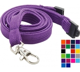 10mm Tube Polyester Promotional Lanyard