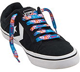 Vibe Dye Sublimation Flat Polyester Shoe Laces