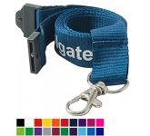20mm Flat Polyester Lanyards