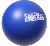 Premium Branded 70mm Round Stress Ball