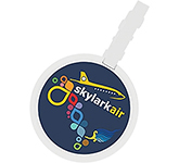 ColourBrite Circular Bag Tag