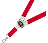 Exhibition Branded 20mm Round Lanyard