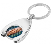 ColourBrite Wishbone Trolley Coin Keyring