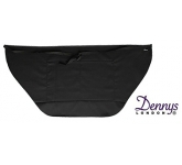 Dannys Wrap Over Waist Black Apron