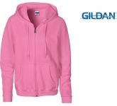 Gildan Heavy Blend Ladies Zipped Hoodie