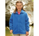 Fruit Of The Loom Kids Full Zip Fleece