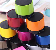 On-trend giveaways with printed bluetooth speakers!
