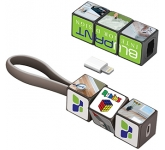 Rubik's Mobile Charging Cable Set
